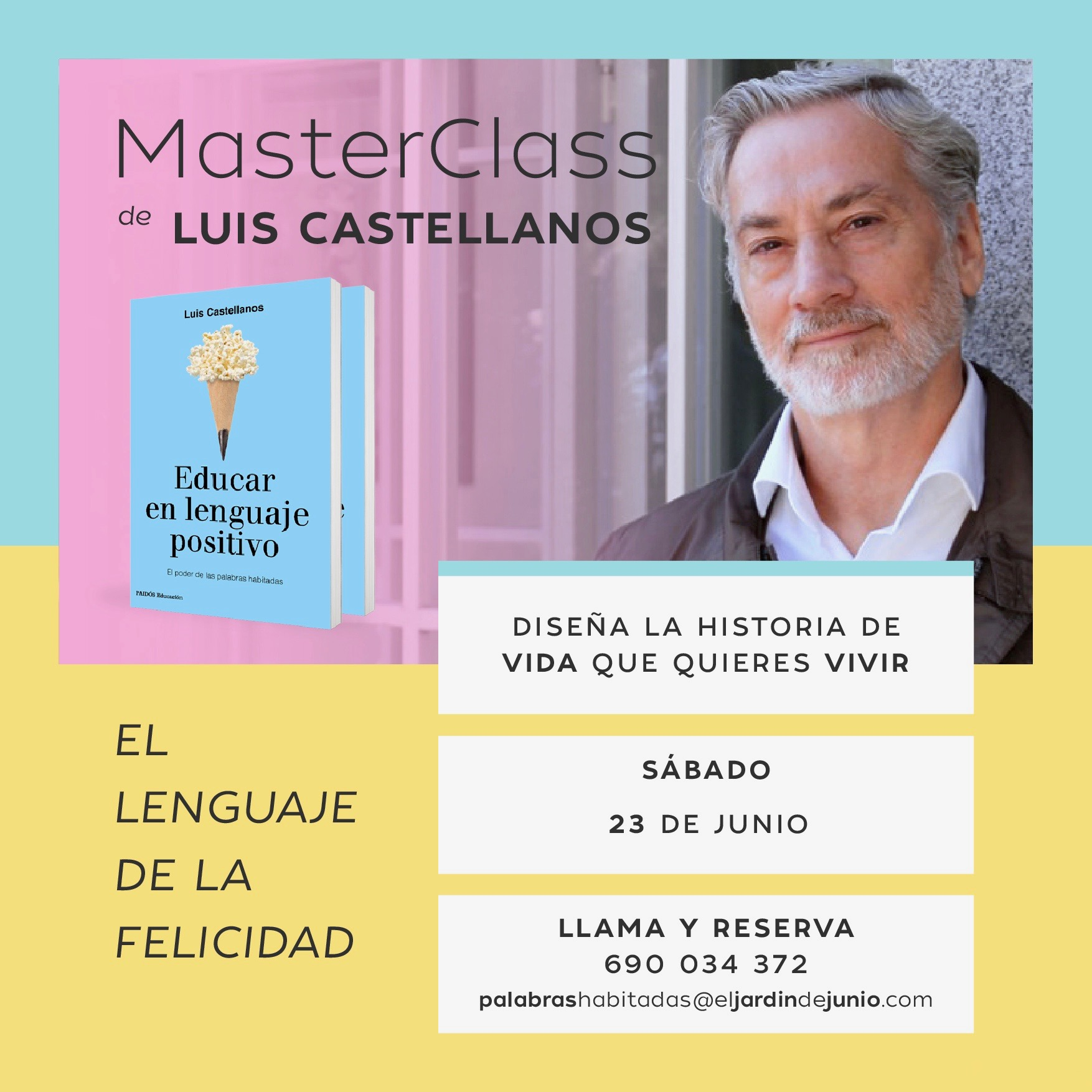 MasterClass con Luis Castellanos